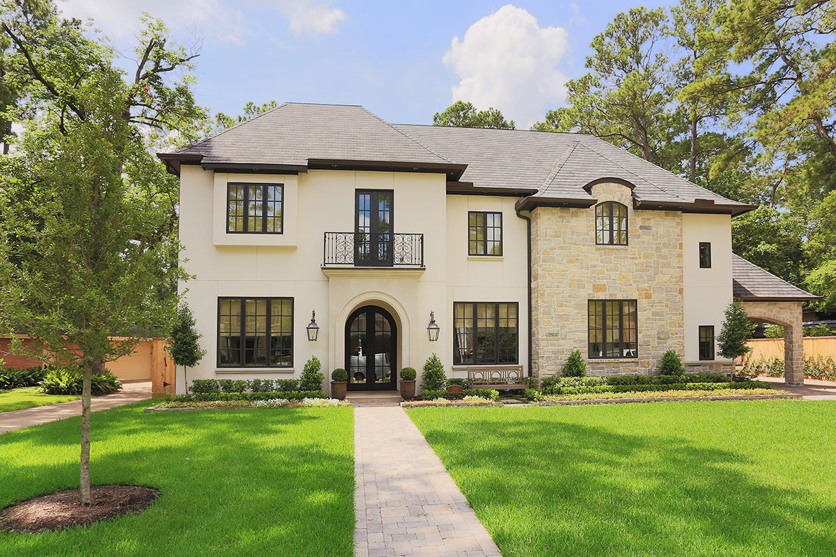 Corbel custom homes inc houston 39 s premiere custom home for Tradition home